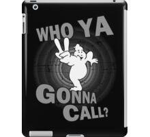 who ya gonna call iPad Case/Skin