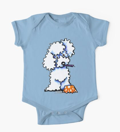 Cupcake Poodle One Piece - Short Sleeve