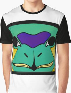 Totem Pole Swan Graphic T-Shirt