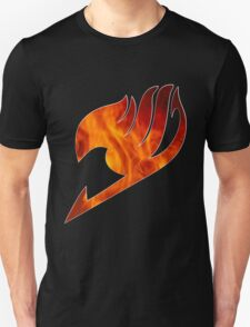 Fairy Tail Logo Fire T-Shirt
