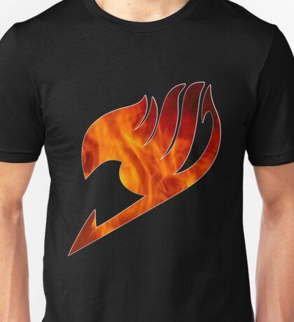 Fairy Tail Logo Fire Unisex T-Shirt