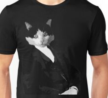 Portrait of a Gentlecat Unisex T-Shirt