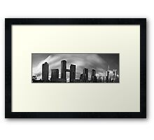 Windy city! Framed Print
