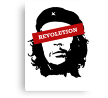 Revolution is HERE! Canvas Print