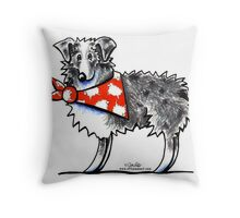 AUSSIE-M Shepherd Throw Pillow