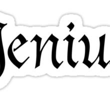 Jenius Sticker