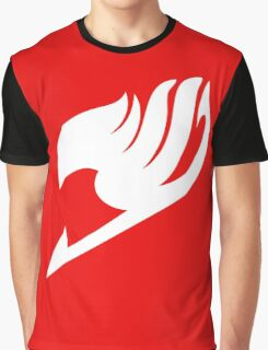Fairy Tail Logo white Graphic T-Shirt