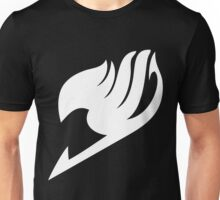 Fairy Tail Logo white Unisex T-Shirt