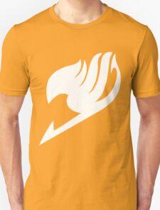 Fairy Tail Logo white Unisex T-Shirt