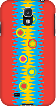 Rainbow Aztec 3G  4G  4s iPhone case  Rainbow Aztec 3G  4G  4s iPhone case   by Andi Bird