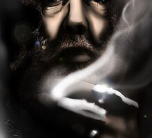 Alan Moore - Comic Messiah by GUNHOUND