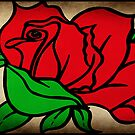 The Rose © by Dawn M. Becker