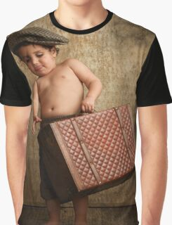 toddler Leaving Home Graphic T-Shirt