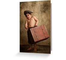toddler Leaving Home Greeting Card