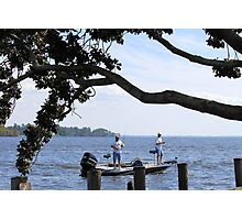 Just Fishing Photographic Print