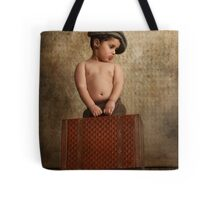 toddler ready to leave home Tote Bag