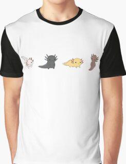 Axolotl Parade Graphic T-Shirt