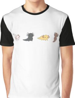 Axolotl Parade Graphic T-Shirt