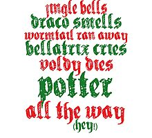 A very Potter christmas carol Photographic Print