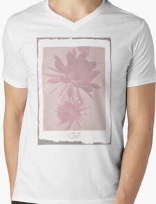 Negative Bloom Mens V-Neck T-Shirt