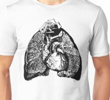 Lung Language - black Unisex T-Shirt