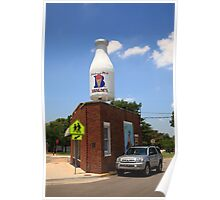 Route 66 - Giant Milk Bottle Poster