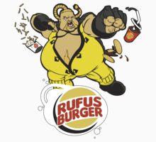 Burger Brawler - sticker by SKELEPUG