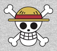 Straw Hat Pirates Logo One Piece - Long Sleeve