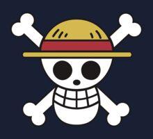 Straw Hat Pirates Logo Kids Tee