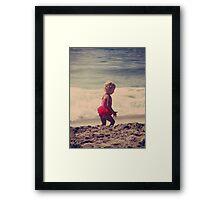 Little Tutu Framed Print