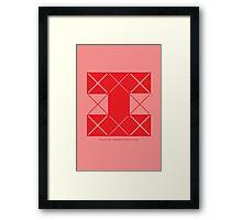 Design 206 Framed Print