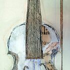 The paper violin by Jenny Wood