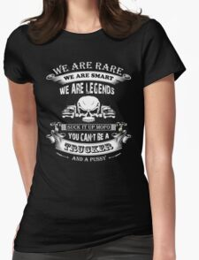 Truckers Are Legends Womens Fitted T-Shirt