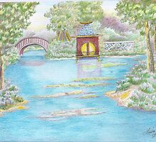 MIRROR LAKE BELLINGRATH GARDEN by lulabell83