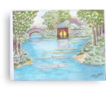 MIRROR LAKE BELLINGRATH GARDEN Canvas Print