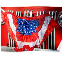 Red, White & Blue......Grill Poster