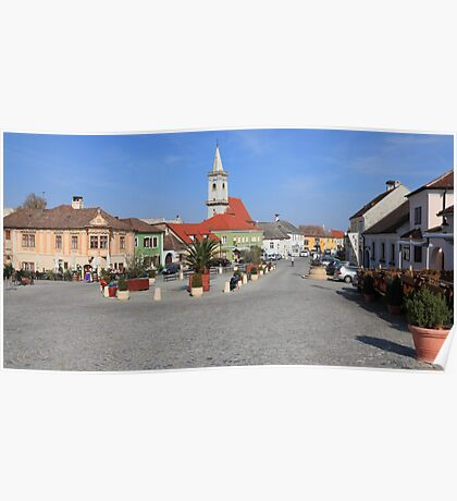 Town square Poster