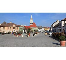 Town square Photographic Print