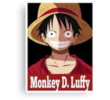 Monkey D. Luffy OB Canvas Print