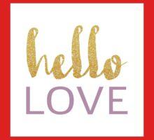 Hello Love Kids Tee
