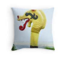 The Famous Dragon's Head in Kent, England Throw Pillow