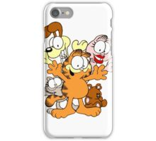 garfield and friends iPhone Case/Skin