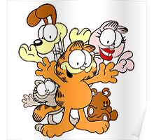 garfield and friends Poster