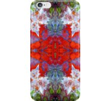 Birds Outside The Box (Red Lightning Agate) iPhone Case/Skin