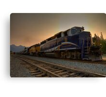 Rocky Mountaineer Halo Canvas Print