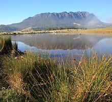 Mt Roland, Tasmania, Australia by Michael Boniwell