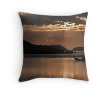 Homeward Bound With Rays Of Hope Throw Pillow