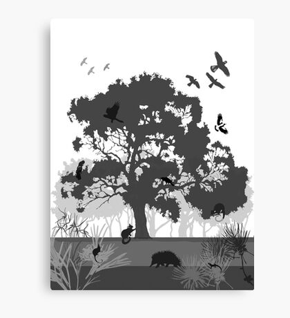 Support Native Animal Rescue Canvas Print