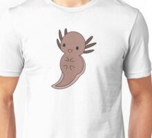 Brown Axolotl Unisex T-Shirt