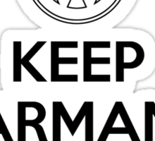 Keep Karmann Carry On (Black) Sticker